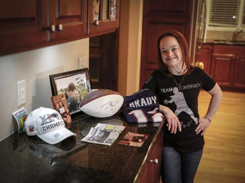 Meet the other model in Tom Brady s life  Iowa s Katie Meade 0962c3ed6