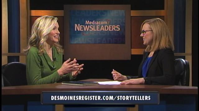 Register reporter Mackenzie Ryan talks about the upcoming season of the Des Moines Storytellers Project during Mediacom's Newsleaders program.