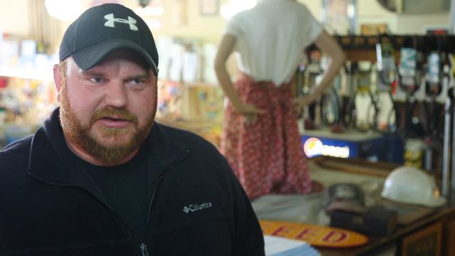 Meet Ben Speck, 36, the new owner of New Providence Hardware, Iowa's oldest hardware store.