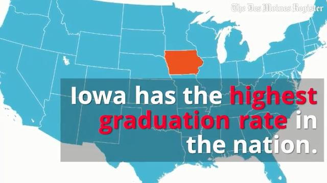 Each year, the Iowa Department of Education releases its Condition of Education report. Here are 7 facts about Iowa schools from its 2016 report.