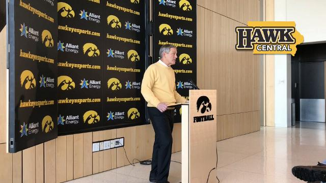 The Iowa head coach touts Derrick Foster's abilities and outlines his responsibilities