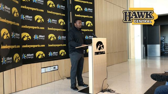 The new Hawkeye assistant talks about his strengths as a running backs coach