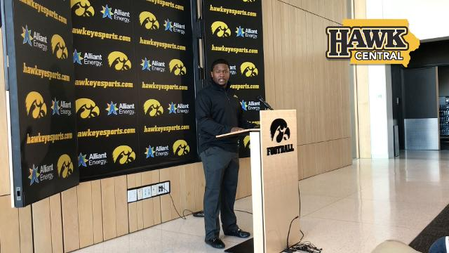 The newest Hawkeye assistant says he wants to be a head coach and is eager to learn from Kirk Ferentz.