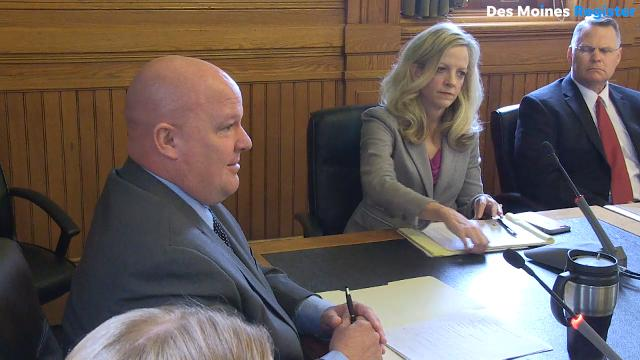 "State senators go back and forth over abortion and Planned Parenthood issues as subcommittee members consider ""fetal heartbeat"" legislation at the Iowa Capitol, which would ban most abortions in Iowa."