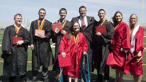 The McCaughey septuplets made history when they were born in 1997. Now they are young adults graduating high school. See how each one developed into their own person over 18 years.