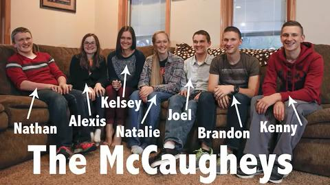 The first septuplets to survive infancy, the McCaughey's turn 18 this November. They talk about what it's like to have so many siblings.
