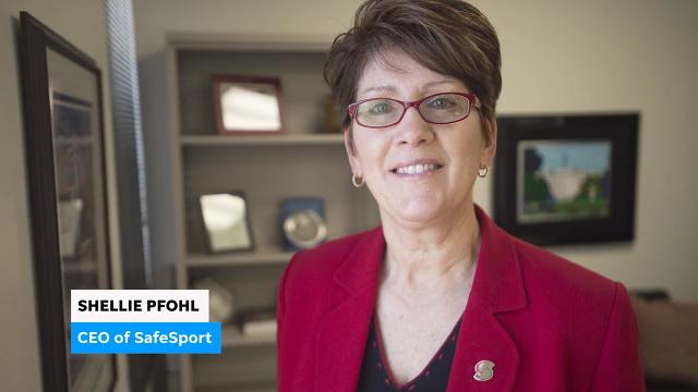 Shellie Pfohl, CEO of SafeSport talks about her organization's mission to protect athletes all the way from youth sports to the Olympics.