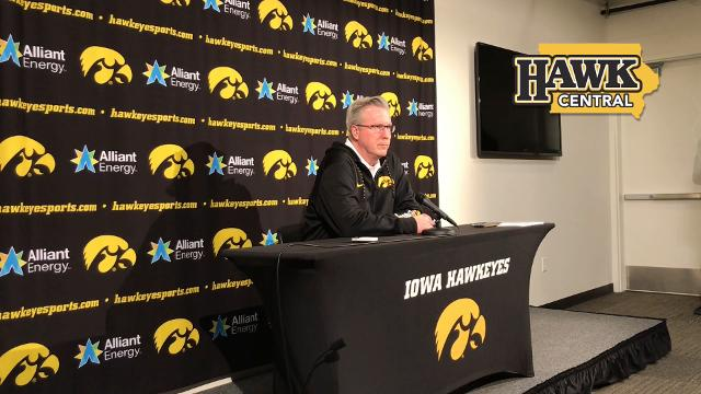 Fran McCaffery details the struggles of one of his top players