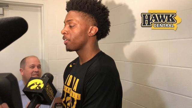 Iowa forward Tyler Cook has to adjust to more defensive attention.