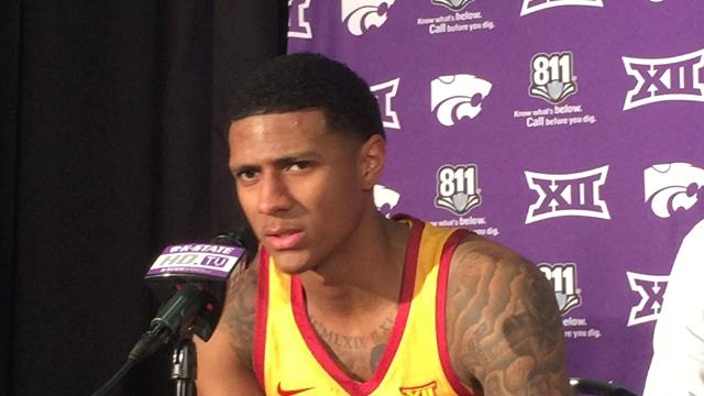 Donovan Jackson says it's on the players to salvage something positive from this Iowa State basketball season.
