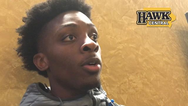 Tyler Cook on a rare crucial late-game situation for Iowa