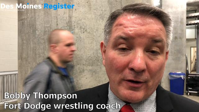 Fort Dodge coach Bobby Thompson discusses the program's first traditional state title since 1985.