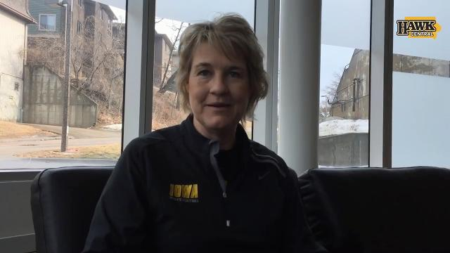 Iowa coach Lisa Bluder discusses the impact of Megan Gustafson on the NCAA-bound Hawkeyes.