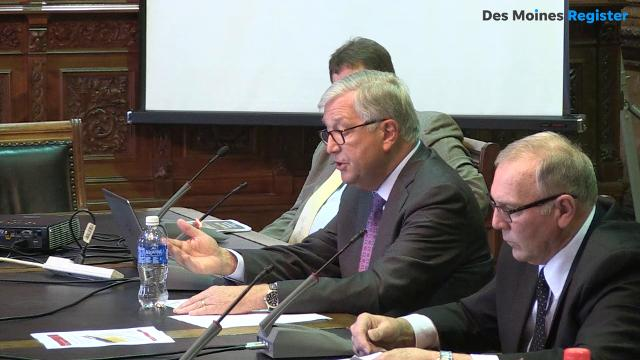 Dr. Michael Richards, Iowa Board of Regents president, told the House Appropriations Committee that they had only planned for a four percent tuition increase or less to the state's schools.