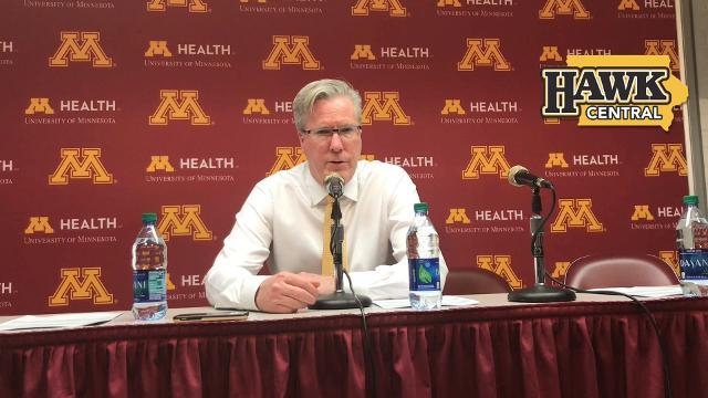 Iowa coach Fran McCaffery explains why he played Maishe Dailey more than Jordan Bohannon
