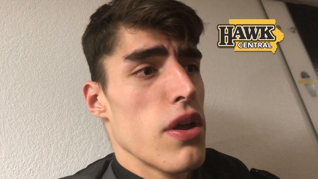 Iowa freshman Luka Garza on a slow start and what eventually changed against Minnesota