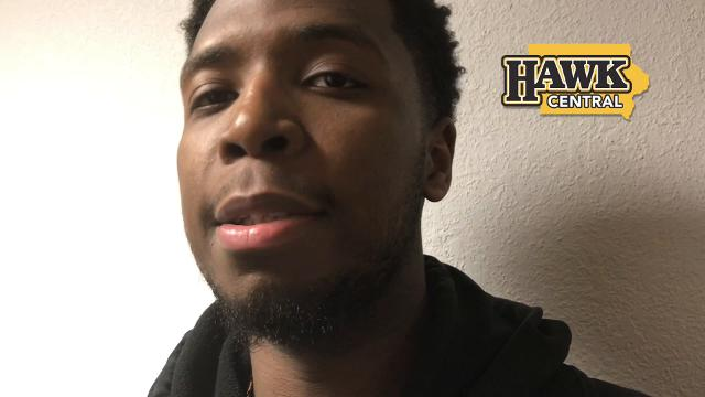 Iowa guard Isaiah Moss says his 19-point burst did remind him of former teammate Peter Jok