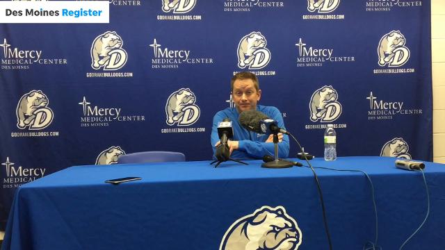Drake coach Niko Medved appreciates how quickly his seniors bought into him during his first year at the helm.