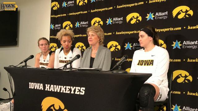 Lisa Bluder breaks down Iowa's fast start vs. Indiana.