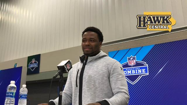 Former Iowa running back on his NFL meetings and the value of being able to play on special teams
