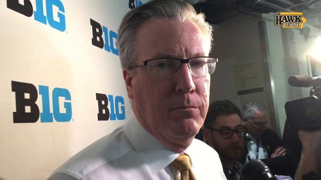 Iowa coach Fran McCaffery discusses a 77-71 loss to Michigan that capped a 14-19 season.