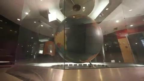 From 2014: Iowa columnist Kyle Munson introduced a series about the history of the paper as it prepared to move from 715 Locust Street to Capital Square. This installment focuses on the iconic globe in the main lobby.