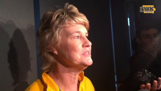 Iowa coach Lisa Bluder discusses her team's earning of a No. 6 NCAA Tournament seed.