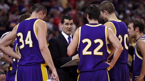 Northern Iowa coach Ben Jacobson talks about Ali Farokhmanesh's game winning shot in the 2010 NCAA Tournament against Kansas.