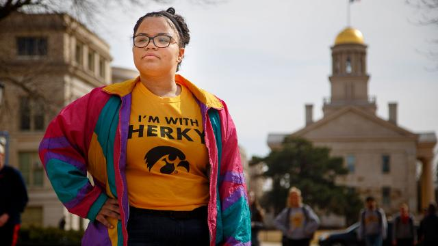University of Iowa Student Angela Hicks talks about the challenges and rewards of being a first generation college student.