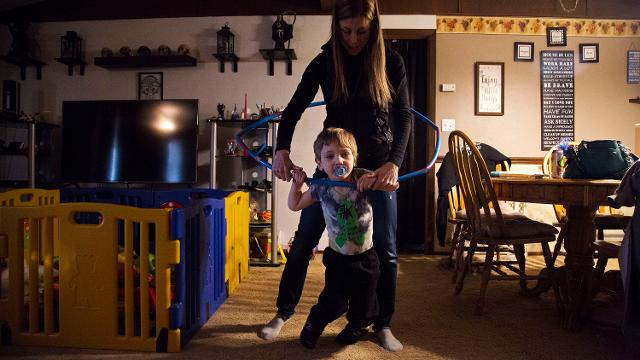 'A horrible oversight': Iowa mother battles Medicaid for son's walker
