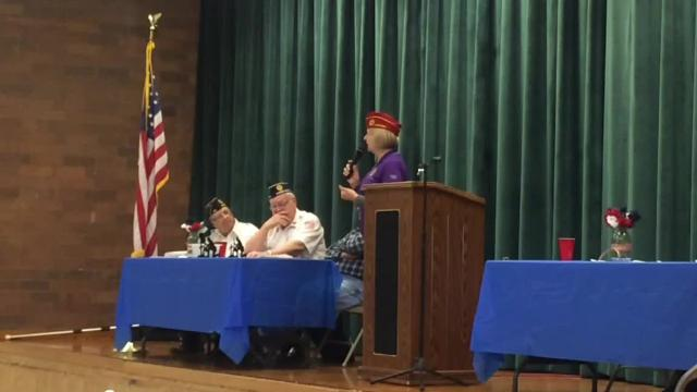 The first female National American Legion Commander is an Iowa native. She returned to the state to speak to local Legion posts March 23-26.