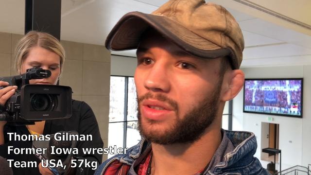 Former Iowa star Thomas Gilman discusses focusing exclusively on freestyle wrestling ahead of the UWW Freestyle World Cup.