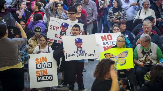 Iowa legislators want to crack down on cities they say are providing sanctuary to potentially illegal immigrants.