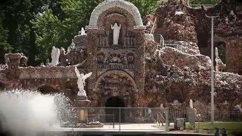 Take a tour and learn more about the unique Grotto of the Redemption in West Bend, Iowa, which marked its 100th anniversary in 2012.