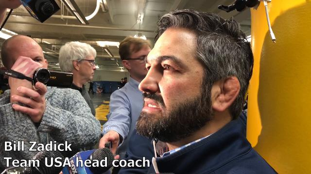 Bill Zadick, an NCAA Champion under Dan Gable, is back in Iowa City as Team USA's head coach.