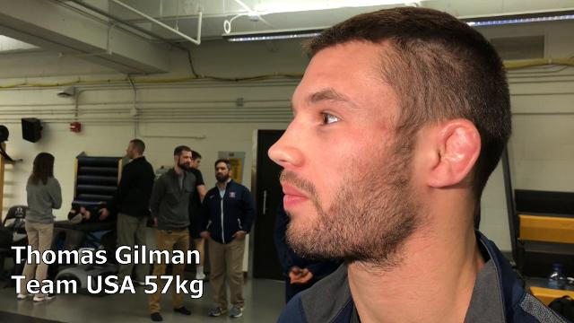 Thomas Gilman, a three-time All-American at Iowa and world silver medalist, discusses what changes since Russia and Iran aren't in the World Cup.