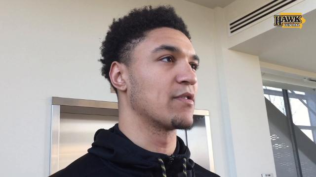 Iowa sophomore forward Cordell Pemsl isn't sure if he will be back with the Hawkeyes.