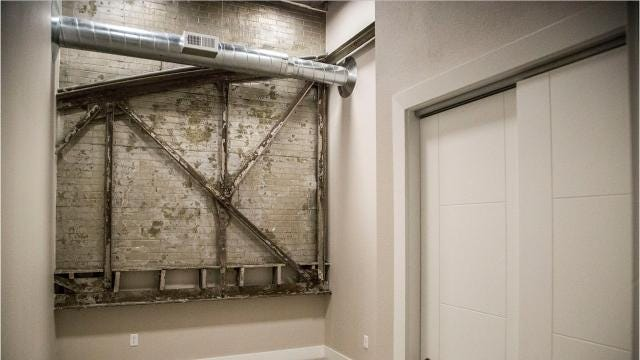 Take a peek inside Hubbell Realty's Station 121 apartments in Downtown Des Moines.