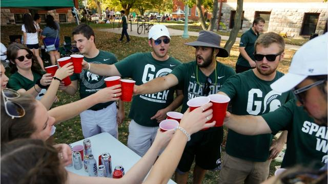 To beer or not to beer? More Big Ten schools are selling alcohol throughout their football stadiums.