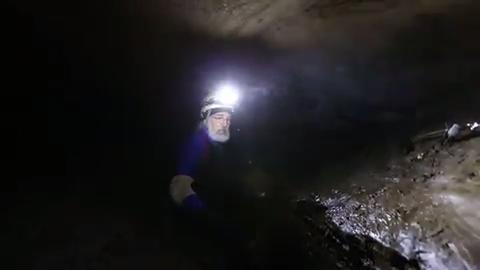 Explore one of the largest caves in the Upper Midwest.