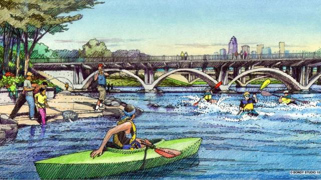 Downtown Des Moines water trails plan could generate $104M in tourism dollars in five years