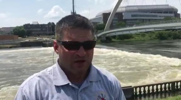 Des Moines Fire Capt. Bob Suarez talks about water safety following four calls for service in the last two weeks, three of which in the last 24 hours.