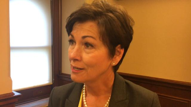 Iowa Gov. Kim Reynolds talks about health care access and fixing Iowa's Medicaid privatization initiative