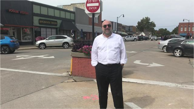 Indianola's Iowa Economic Development Downtown Assessment addressed challenges to the existing streetscape and traffic flow.