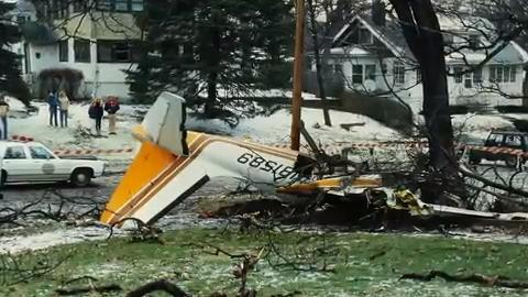 It was the last of three airplanes to return home after the ISU women's cross country finished second in the nation. But the weather proved too much and the small plane crashed into a Des Moines neighborhood, killing all seven aboard.
