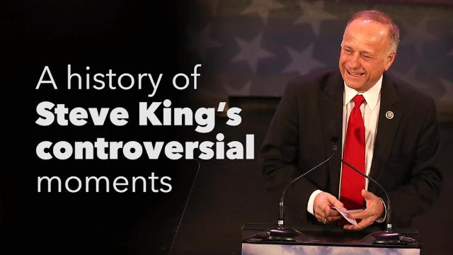 Through the years, Steve King, a Republican congressman from western Iowa, has made several widely criticized remarks during his years in office. This is a brief history of some of those moments.