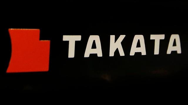 Takata files for Chapter 11 bankruptcy