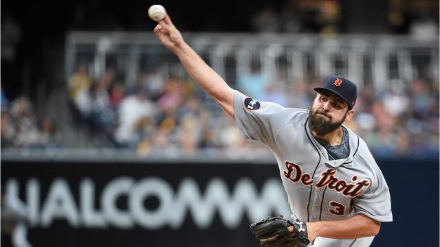 Michael Fulmer, the AL rookie of the year last season, has made the 2017 MLB All-Star Game. The 24-year-old Tigers RHP is 7-6 with a 3.19 ERA in 15 starts. Video by Ryan Ford, DFP