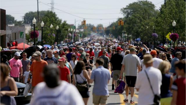 The Woodward Dream Cruise said today Ford will be its main sponsor for this year's annual cruise in August.