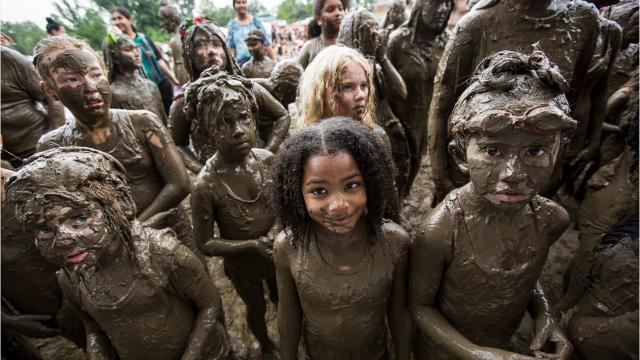 Down & dirty: Kids get messy on Mud Day